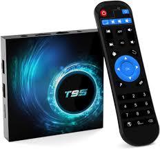 2020 <b>Newest</b> Android <b>TV</b> Box,<b>T95</b> Android 10.0 <b>TV</b> Box 4GB RAM ...