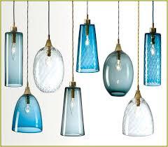 handblown glass pendants hand blown lighting pendant