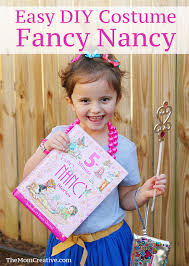 easy diy fancy nancy costume perfect for book character day