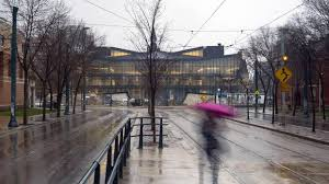 the new building behind knox college viewed from spadina avenue daniels tree service l67