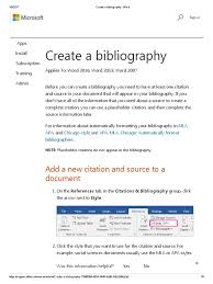 Create A Bibliography Word Tag Metadata Citation