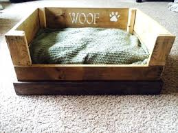 wood dog bed furniture. Dog Beds Pallet Easy Bed Recycled Furniture Wood .