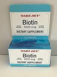 trader joe s biotin tary supplement