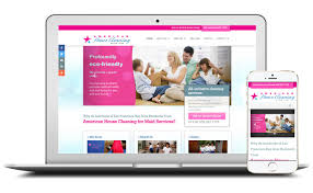 usa retail web design company easy edit customer example american house cleaning