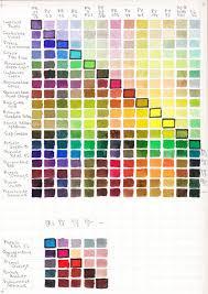 Ys Paint Color Chart Daniel Smith Watercolor Sticks Color Chart Best Picture Of