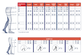 Sigvaris Measurement Chart Traditional 500 Sigvaris Group Uk