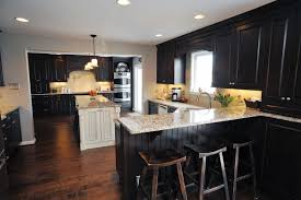 Hardwood Floor In The Kitchen National Lumber Dartmouth Dark Sable Loch Raven Pinterest