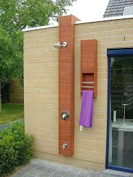 outdoor pool shower ideas for and photos 1 outdoor pool shower solar ideas homes