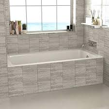 drop in tub with shower simple tiled awesome drop in tub regarding white tile floor surround drop in tub with shower