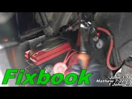 battery how to remove replace a battery chrysler sebring