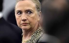Resultado de imagem para Hillary  Clinton com raiva