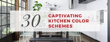30+ Captivating Kitchen Color Schemes