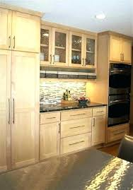 Kitchen Colors With Light Wood Cabinets Custom Inspiration