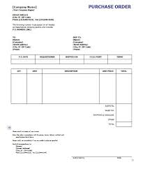samples of purchase order form po word military bralicious co