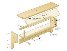 Wall Coat Rack Plans Free Coat Rack Shelf Plans How to Build a Shelf with Hooks Wall 7