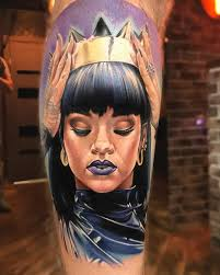 Rihanna Tattoo By Anjelika Kartasheva Album On Imgur