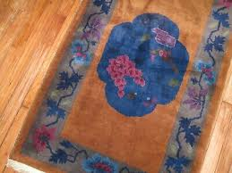 antique chinese art deco rug size 2 6 x4