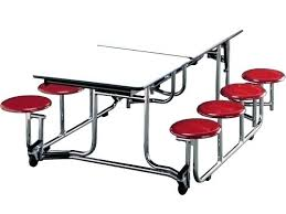 used lunch tables for industrial cafeteria table and chair seating style ial chairs round pr