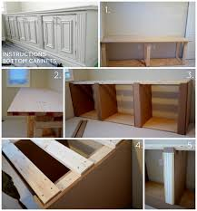 office built in furniture. DIY Built-in Office Cabinet Bottom Instructions | Classy Glam Living Built In Furniture