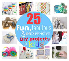 25 fun fabulous inexpensive diy projects for kids this march break