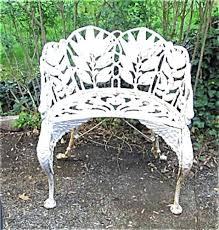 wrought iron garden furniture antique. victorian cast iron carved bench sold vintage wrought patio furniture woodard garden antique
