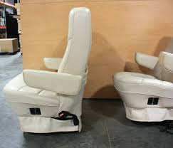 rv furniture used rv leather look captain chairs for rv used rv leather look captain chairs for