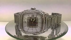 david yurman dual time t306 dst stainless steel men s diamond david yurman dual time t306 dst stainless steel men s diamond watch pre owned
