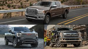 specs check 2019 ram hd vs 2020 gmc sierra hd vs 2019 ford super duty
