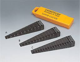 taper gauge kit. taper gauge kit d