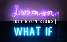 Neon Bedroom Diy Neon Sign Decor The Sorry Girls Youtube