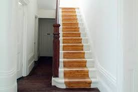 Painting Wooden Stairs How To Paint Wooden Stairs Southern Painting Of Nc  Template