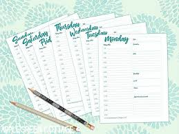 Daily Planner Printables Free Daily Planner Printable To Keep You Organized