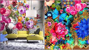 Stylish Printed Wallpaper Ideas