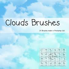 Cloud Photoshop Brushes 24 Stylish And Natural Photoshop Brush Collections Media Militia