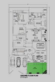 House Floor Plan By 360 Design Estate 1 Kanal