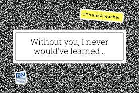 National Teacher Appreciation Week 2019
