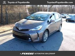 2017 Used Toyota Prius v Five at Honda of Fayetteville Serving ...