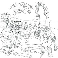 Viking Coloring Page Vudfiullinfo