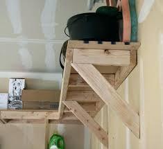 wooden shelf brackets overhead garage storage 3 awesome home ideas shelving decorative wood homemade diy floating
