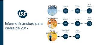 Informe Financiero Informe Financiero Para El Cierre De 2017 Iss World Chile