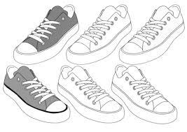 Disegno Di Sneakers Da Colorare Disegni Da Colorare E Stampare Gratis
