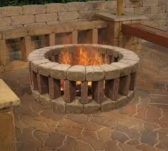 Enjoy your evenings outside by lounging around a Belgian Fire Ring. An  ideal addition to your outdoor setting, this fire pit is easily constructed  with ...