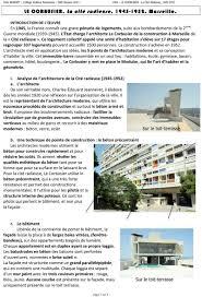 Troisième Hda Le Corbusier La Cité Radieuse 1945 1952