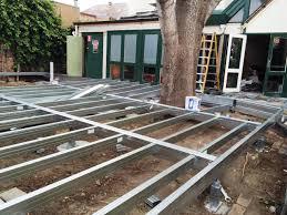 boxspan diy steel deck kits verandah floor frames non self build eco house kits uk self build house kits uk
