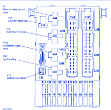 wiring diagram for ford contour wiring diagram blog ford contour s e 1997 fuse box block circuit breaker diagram