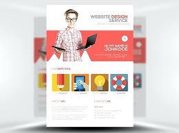 Brochure Style Website Templates Free Flyer Templates Website