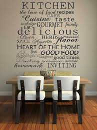 Large Kitchen Wall Decor Tuscan Kitchen Wall Decor Ideas Rectangular Brown Sleek Modern