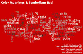 Color Meanings & Symbolism Chart. Red Color MeaningGreen ...