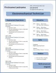 Word 2013 Resume Templates Techtrontechnologies Com