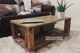 wooden pallet coffee tables diy pallet coffee table